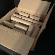 64 Cardboard Rolls 52 TP and 12 Paper Towel Tubes DIY Crafts Art Projects  - $9.46