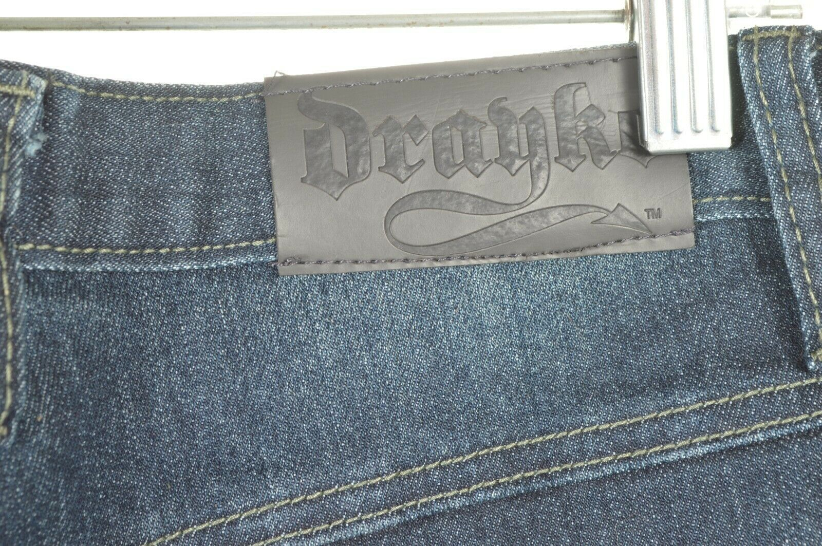 Drayko Jeans Mens 30 x 37 Motorcycle Riding extra long padded - Slightly Used image 10