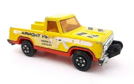 Vintage 1978 Matchbox Toys Plymouth Trail Duster Airport Fire Tender K-65 Rare - $8.58