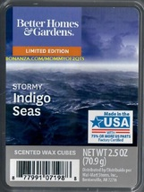 Stormy Indigo Seas Better Homes and Gardens Scented Wax Cubes Tarts - $4.00