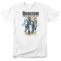 Quantum and Woody T Shirt Valiant Comics 1990s comic book graphic tee VAL182 image 1