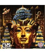 Amazing Adventures The Lost Tomb Pop Cap CD ROM PC Video Game - $1.99