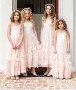Cute Light Pink Flower Girl Dresses for Wedding Party - £58.65 GBP+