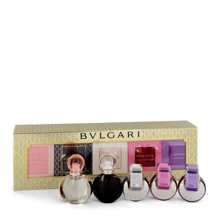 Primary image for Bvlgari Gift Set -- Women's Gift Collection Includes Goldea The Roman Night, Ros