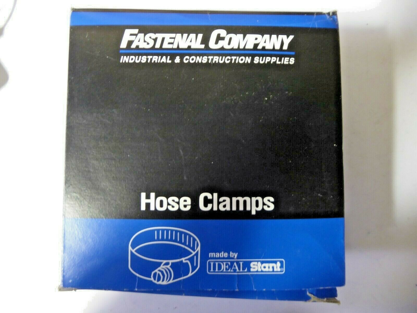 """Fastenal Company 62029 Hose Clamps 5-7"""" 127-178mm box of 10 New pack of 2"""