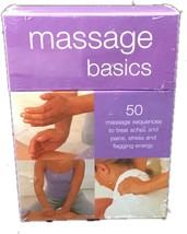 Massage Basics Card Deck Cards – 2007 - $19.99