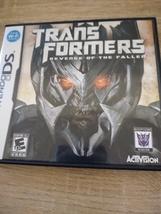 Nintendo DS Transformers: Revenge Of The Fallen Decepticons image 1