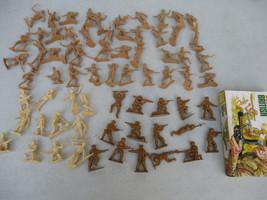 World War 2 Toy Soldier Battle Lot Japanese Marines British Infantry Pac... - $68.96