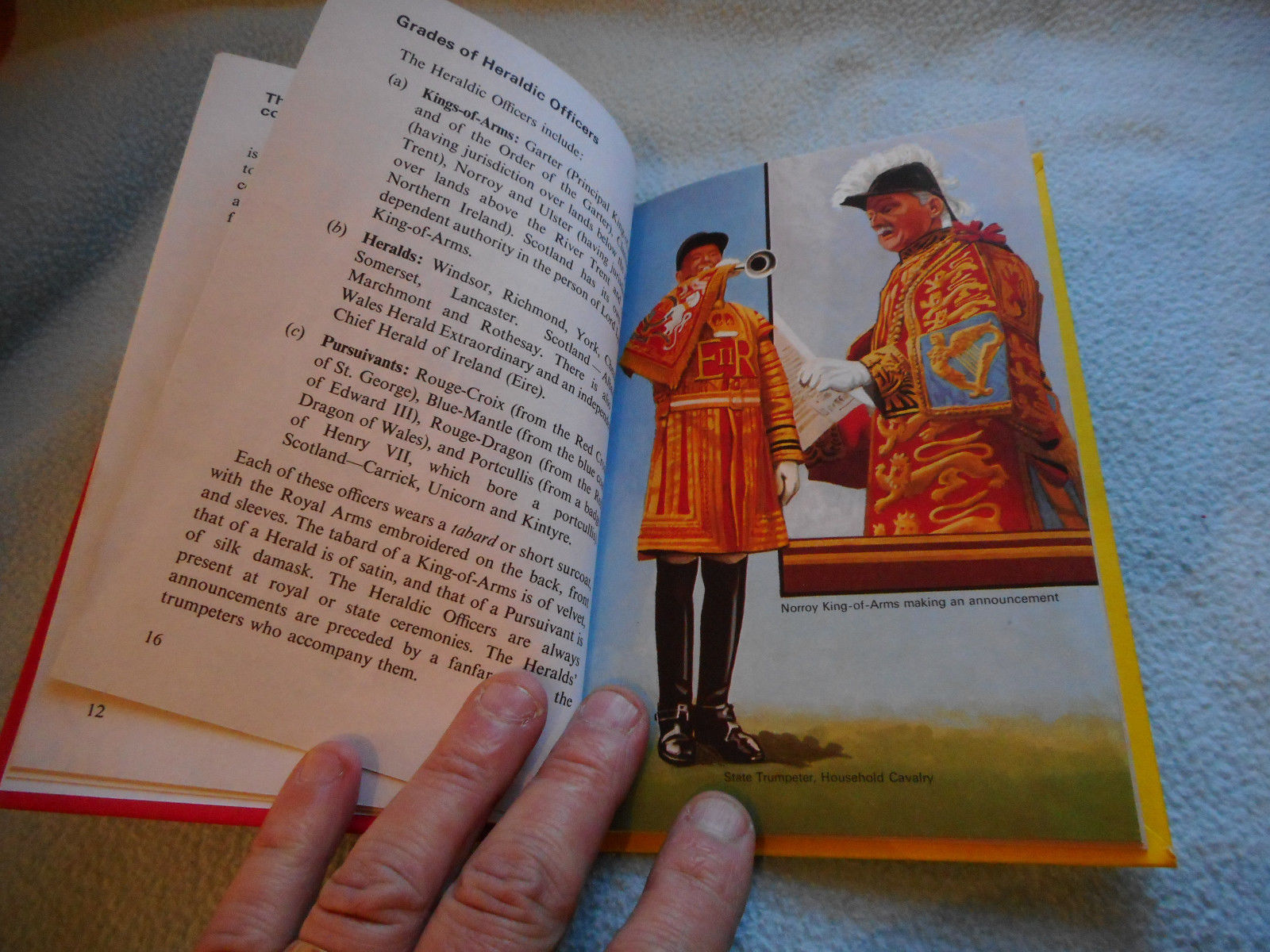 1974  Ladybird Book Learn About Heraldry  series 634