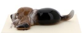 Hagen-Renaker Miniature Ceramic Dog Figurine Basset Hound Pup Lying image 4