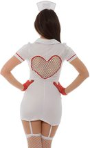 Sexy Hospital Hottie Costume Role Play Bedroom Deluxe Costume Nurse Uniform image 5