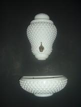 Fenton Glass Hobnail Lavebo Lavabo Top and Bottom - $129.99