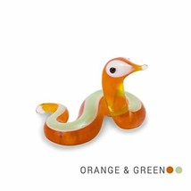 Tynies Animals Cal - Snake Colors May Vary Glass Figure - $7.80