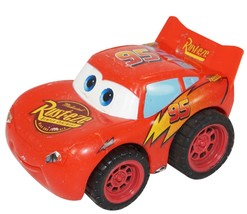 """Lightning Mcqueen From Disney Pixar Cars - Toy Pull Back 3"""" Figure Used - $9.88"""