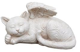 Napco 11145 Sleeping Angel Cat with Wings Garden Statue, 9.75 x 5 - $34.60