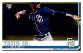 2019 Topps Chrome #203 Fernando Tatis Jr. NM-MT RC Rookie Padres  ID:166232 - $12.82
