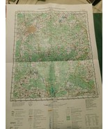 Russian Color Map 1983 # N-36-VII Vintage 21.5 X 16 Inches - $24.64