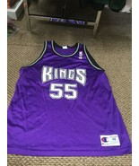 Sacramento Kings Jason Williams Purple Champion Jersey 48 Excellent Cond... - $222.74