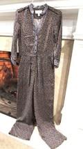 Anthropologie Ett Tws Black Noir Jumpsuit Sz 0P Retail $138.00 - $37.62