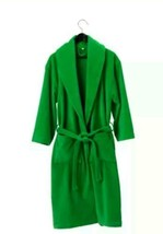 IKEA NJUTA Bathrobe Green 100% Cotton Soft Smal... - $19.79