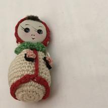 Crochet Russian doll ornament - $10.00