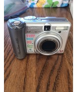 Canon PowerShot A 85 4.0 MEGA PICELS No Battery Ships N 24h - $47.98