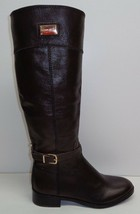 Antonio Melani Size 6 M ELENA Brown Leather Knee High Boots New Womens S... - $147.51