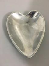 "Nambe 118B Heart Shaped Sweetheart Bowl Dish 8.5""  - $33.81"