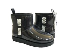 UGG CLASSIC CLEAR MINI BLACK WATERPROOF BOOT US 12 / EU 43 / UK 10 - $135.58