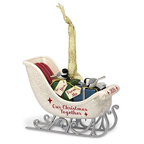 Hallmark Keepsake Christmas Ornament 2018 Year Dated, Our Christmas Together Sle