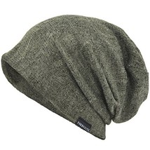VECRY Mens Slouch Beanie Skull Cap Thin Summer Hat Thin Green - $14.97