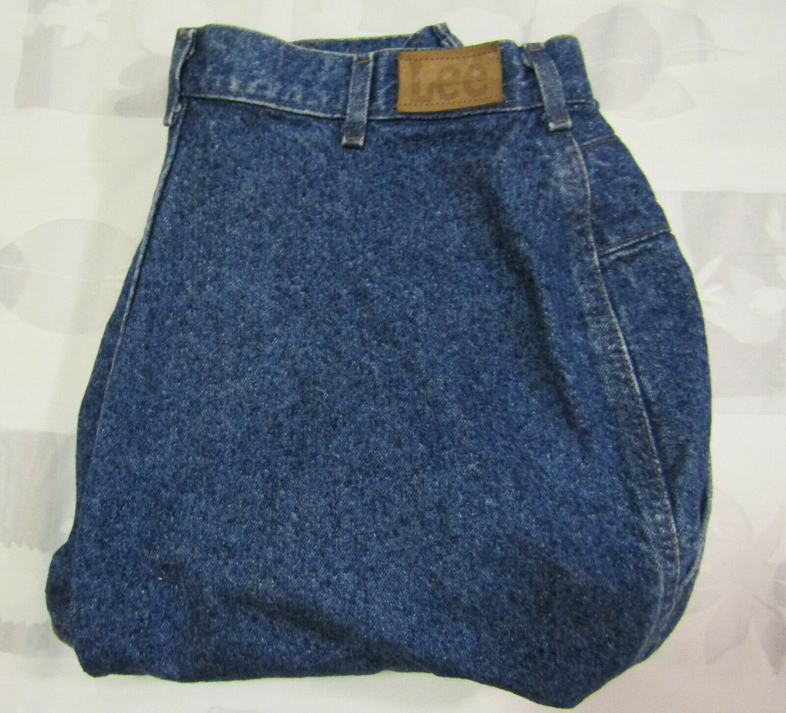 Primary image for Lee Mom Jeans High Rise Size 20W Pet 34 X 27 Womens Vintage Made In USA