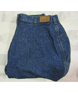 Lee Mom Jeans High Rise Size 20W Pet 34 X 27 Womens Vintage Made In USA - $34.99