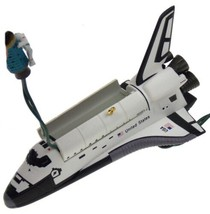 Hallmark Keepsake Ornament Space Shuttle Stringer Light Handcrafted Date... - $14.99