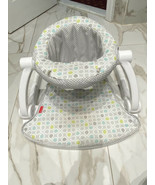 Fisher-Price Sit-Me-Up Floor Seat - Grey/Green/Blue - $22.40