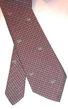 Ralph Lauren Waterfowl Tie Ducks Vintage Necktie Red Gold Chaps Silk USA... - €20,11 EUR