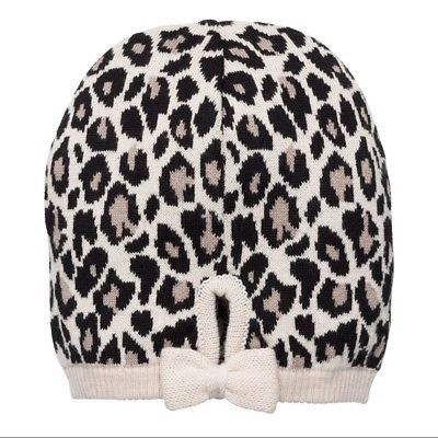 2aff92a07e6a Kate Spade leopard print jacquard bow beanie and 25 similar items. 1