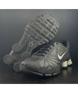 Nike Shox Turbo 14 Black/Metallic Running Shoe 631760-002 Men's Size 8 - $113.84