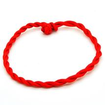 Fashion Red Thread String Bracelet Lucky Rope Bracelet Handmade Rope Lin... - $10.28