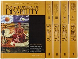 Encyclopedia of Disability, 5 volume set [Hardcover] [Oct 07, 2005] Albr... - $35.63