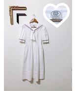 Laura Ashley Sailor dress - true vintage - authentic - women's size 6 - $120.00