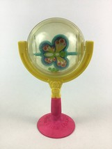 Vintage Fisher Price Suction Cup Butterfly Spinning Rattle Baby Toy 1980s - $16.88