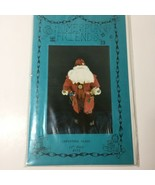 "Christmas Claus 22"" Doll Pattern Homespun Friends - $11.64"