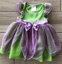 Disney Store Baby Infant Tinkerbell Fairy Halloween Costume Dress 12-18 ... - $15.83