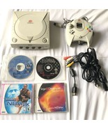 ☆ Sega Dreamcast Console Game System Bundle W/ 4 Games Lot - Tested Works ☆ - $79.99