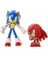 "Sonic The Hedgehog Sonic 4"" Bendable Action Figure by Jakks Pacific knuc... - $39.99"