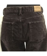 CHAPS Denim Women's 8 Brown 5 Pocket Soft Cotton Stretch Corduroy Pants ... - $23.02
