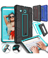 Hard Hybrid Shockproof Protective Case Cover For Samsung Galaxy Tab E 9.... - $17.90