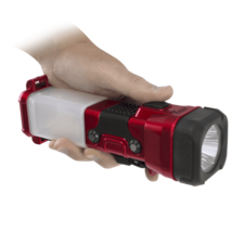 Halo Bright 3-in-1 LED Lantern, Flashlight & Night Light Brand New in Box- RED