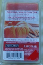 NEW Pack Ashland Christmas Candle Collection Pumpkin Spice Scented Wax C... - $4.94
